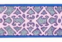 Mongolian ornaments / graphics, patterns