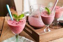 Smoothies & sapjes | Gezond eten / Geef je lichaam een energieboost met een van deze heerlijke smoothies of sapjes.