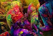 COLOURFUL / Die Farbe BUNT - Farbe des Lebens The colour COLOURFUL - colour of life