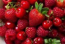 vegan taste - RED / rote Lebensmittel red food and red vegan recipes