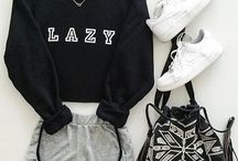 Lazy outfits