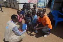 NP South Sudan / Nonviolent Peaceforce works to help protect civilians and reduce violence in South Sudan.