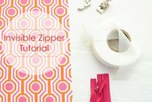 Sewing Techniques / Techniques that will help during sewing, including shortcuts, zippers, metal work, pattern storage, fabric storage, labels, and more.