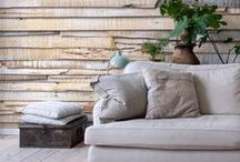 Natural interiors / Home Interior Living, Design and Deco in light colors and wood decor