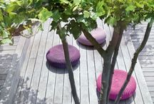 Lila spirit / Living interior and exterior home living and decor in lila, pink, purple colors,