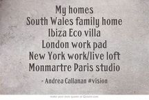 #Vision & desire - dwellings / I am happy and grateful for my properties...... / by andrea callanan (beardshaw)
