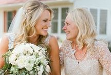 Mother-of-the-Bride Guide / Beautiful dresses & shoes, lovely hairstyles, and cute gift ideas: this board is full of inspiration to make sure Mom looks her best on your big day.