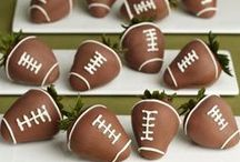 Game Day / Our picks for team-themed décor, crowd pleasing appetizers, and football sweets guaranteed to score a touchdown.