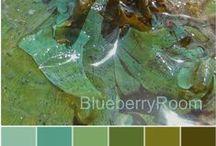 Palettes / Delicious, inspiring colours