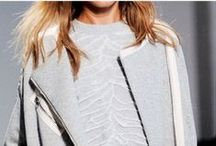 Van Os | FW14 Trend: Bland Boldness / Greys, beiges, neutral colours, dark&light, warmth & texture, shimmers, metallics, monochrome look, suiting, clean designs, comfort, relaxed, wrappings, winter.