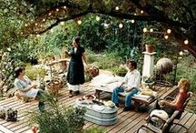 Backyard Wonderland / You don't have to travel far to reach nirvana: inspiration for everything you need to make your backyard the outdoor oasis you've always wanted.  / by Elder-Beerman