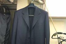 Men's Suits & Jacket / W(ダブル)クリーニング&ハンドプレス(手仕上げ)による施術