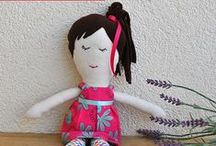 Bez Bebekler / El yapımı sevimli, renkli bez bebekler www.oyuncakdusle.com