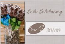 Easter Entertaining / Colour your home with McEwan's array of Easter products. From egg baskets and chocolate treats, to lively decor and bright centrepieces, our team will have you catching spring fever in no time!