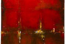 Paint the town red / Tässä näitä tauluidiksii! <3