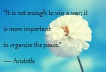 #Peacequote Sunday / It's our favorite day for #PeaceQuotes! Check back every week for our #inspirational updates about #peace.