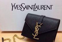 Yves Saint Laurent & Saint Laurent Paris / Yves Saint Laurent Handbags / by Pawngo