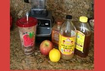 """Apple Cider Vinegar :: ColdSteamOutdoor / Had to do it! Apple Cider Vinegar deserves its own board. I'm blown away by all the health benefits of something as cheap, accessible and simple apple cider vinegar. The fact that it's non-toxic and all natural - wow! Be sure to get the good kind - """"with the Mother"""". Has a lot of cloudy floaties in it, but that's the good stuff. Braggs is still my favorite brand of apple cider vinegar."""