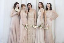 Bridesmaids / Mix and match bridesmaid dresses, pin anything that you like the look of :)