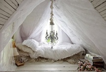 Home / Houses mean a creation, something new, shelter freed from the idea of cave. ~Stephen Gardiner / by Erin Leigh