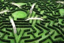 Labyrinth / real or artistic maze