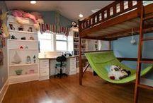 KidSpace / book nooks, bedrooms, dollhouses... kid spaces.