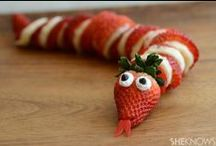 Cute and Fun Food For Kids / by Diane Jones Ferland