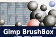 Gimp Stuff / The best Brushes for Digital Painting with Gimp