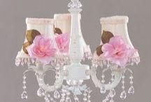 lamps, chandelier / by Karen Haggard