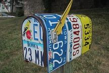 Special Delivery / Here are some cool, pretty, fun, unique and vintage mailboxes. Not secure like Mail Boss, but still special. #specialdelivery / by Mail Boss