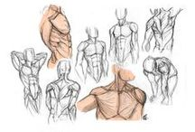Anatomy: General / Painting References focused on Human Anatomy