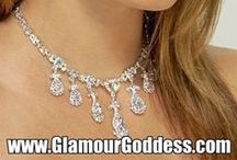 Rhinestone Jewelry Sets / Rhinestone Jewelry Sets for Brides, Bridesmaids, Choirs, and Weddings.