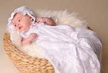 Vestidos para el Bautizo / Muestras para bebés en su bautizo
