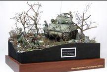 model dioramas