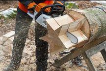 DIY - Schreinern / Werkzeug: Holz, Säge, Bohrer, Schraube, Nagel, Hammer etc.