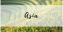 Asia Travel / Travel destinations throughout the east, central, and south Asia continent.
