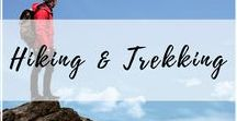 Hiking & Trekking / The most epic hikes around the world for every skill and fitness level. Interesting hikes, places to hike, and hiking trails you have to get out on! | hiking, trekking