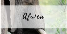 Africa Travel / The best tips and trip ideas for planning your next African holiday or safari! South Africa, travel South Africa, Morocco, African safari