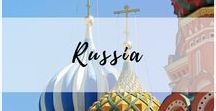 Russia / Everything you need to know for your travel to Russia including trip ideas, itineraries, hacks & tips, photography and more!