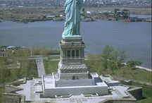 Statue de la liberté a new York / dauphin
