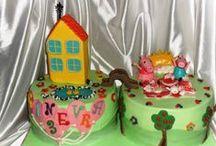 Pasta di zucchero torte decorate / le mie torte