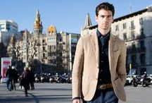 Fay City Diaries: Chapter II Barcelona - the Men's collection. / The Men's Spring - Summer 2014 collection balancing elegant accents and urban style, as seen across the surprising and delightful Barcelona.