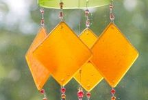 Wind Chimes/Sun Catcher Ideas ~ WOW! / These are beautiful ideas for what I'd like make one day!