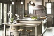 Kitchens to Die For but Not Cook In / Kitchens with great design, style & the newest trends.