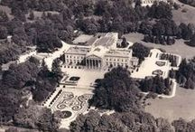 Lynnewood Hall / 110 Room, 55 Bedroom, 62,000 sq ft Mansion in Elkins Park, PA on 33.85 acres. One of the last Neoclassic Revival Estates currently in the fight for it's life with the wrecking ball. Extensive repairs are urgently needed. Currently for sale for $16.5M. #lynnewoodhall #widenermansion