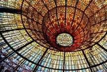 Stained Glass / Examples of the best uses of stained glass & it's design.