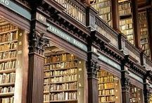 Libraries / Beautiful rooms displayed. Will books really disappear? These great spaces are dedicated to the housing & show of books.