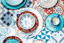Delightful Dining / Beautiful Plates, Cutlery and Glasses