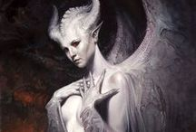 ♋ Angels & Demons ♋ / #Angels #Demons #Devils #Angel #Demon #Devil #allkindoffreaks