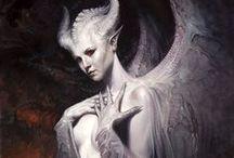♋ Angels & Demons ♋ / #Angels #Demons #Devils #Angel #Demon #Devil #allkindoffreaks